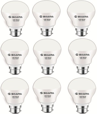 5-W-11009-LED-JAYO-Bulb-B22-Cool-White-(Pack-of-9)