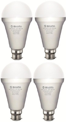 5W White Eco Led Bulbs (Pack Of 4)