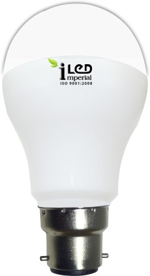 6W 600 Lumens White LED Bulb