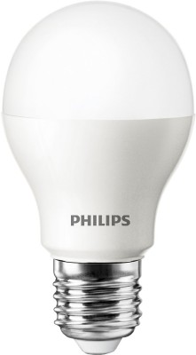 9W White E27 Base LED Bulbs