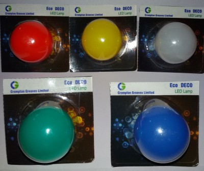 Greaves-0.5-W-LED-Bulb-B22-Multicolour-(pack-of-5)
