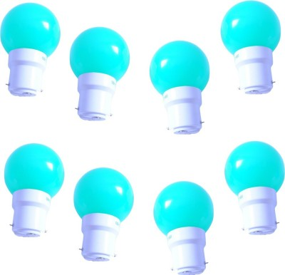 0.5W-Green-LED-Bulb-(Pack-of-8)