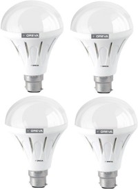 12W ECO LED Bulb (White , pack of 4)