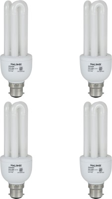 20 W CFL 3U Bulb (Pack of 4)