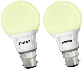 Eveready 7 W LED Combo - 4000K Bulb B22 White (pack of 2)