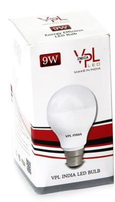 9W Warm White LED Bulb (Pack of 5)