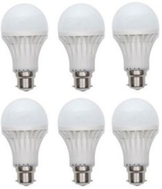 7W-Plastic-220-Lumens-White-LED-Bulb-(Pack-Of-6)