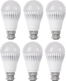 9W-White-LED-Bulb-(Pack-Of-6)