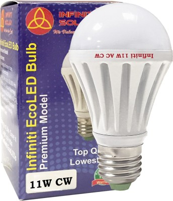 Infiniti-Eco-E27-11W-LED-Bulb-(Warm-White,-Pack-of-3)