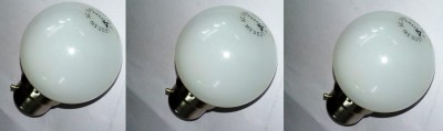 0.5 W LED Bulb B22 White (pack of 3)