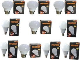 Engineerings 3 W LED Bulb B22 White (pack of 10)