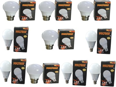 Engineerings 3 W LED Bulb B22 White (pack of 10)