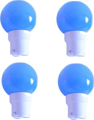 0.5W Blue LED Bulb (Pack of 4)