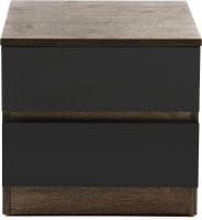 Evok Engineered Wood Chest Of Drawers (Finish Color - Ash And Brown)