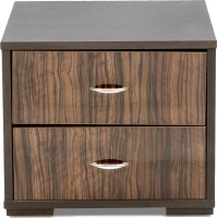 Evok Engineered Wood Chest Of Drawers (Finish Color - Walnut)