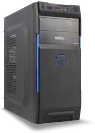Zebronics Spy 2 Without Smps(Zeb-123BL) Mid Tower Cabinet