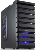 Zebronics Stacks ZEB-523B Without SMPS Full Tower Cabinet (Black)