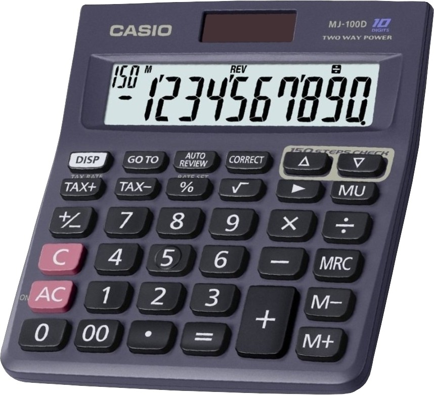 Casio Mj 100d Basic Basic