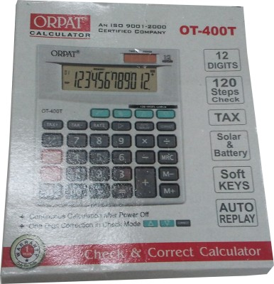 Buy Orpat OT 400T Basic: Calculator