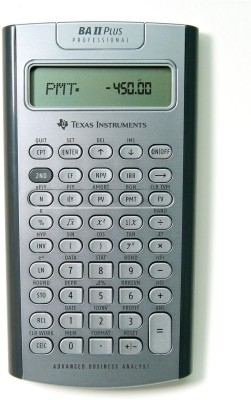 Buy Texas Instruments BA II Plus Professional Financial: Calculator