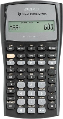 Buy Texas Instruments BA II Plus Financial: Calculator