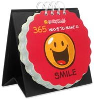 Gift-Tech 365 Ways To Make U Smile Quotes Make Someone Smile 365 Days Perpetual Table Calendar (Multicolor, Smile)