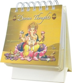 Rasa Calendars Divine Thoughts (366 Quotes) Perpetual Table Calendar