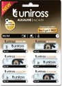 Uniross Ultra High Power Alkaline Buy 5 Get 1 Free  Camera Battery Charger (Hybrio)