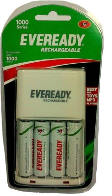 Eveready-1000-Series-(with-4-AA-Rechargeable-battery)-Charger