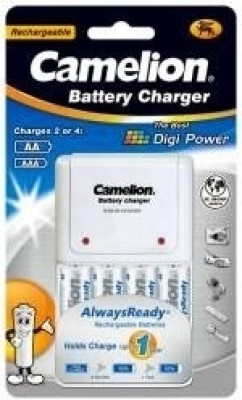Camelion BC 1010B Battery Charger (With 4 ARAA2100 Batteries)