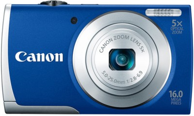 Canon PowerShot A2600 Point & Shoot Camera Blue available at Flipkart for Rs.8725