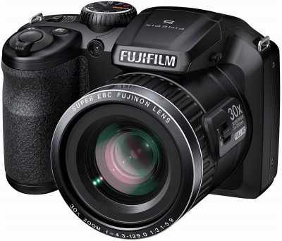Fujifilm S6800 Advance Point and shoot Camera Black available at Flipkart for Rs.10849