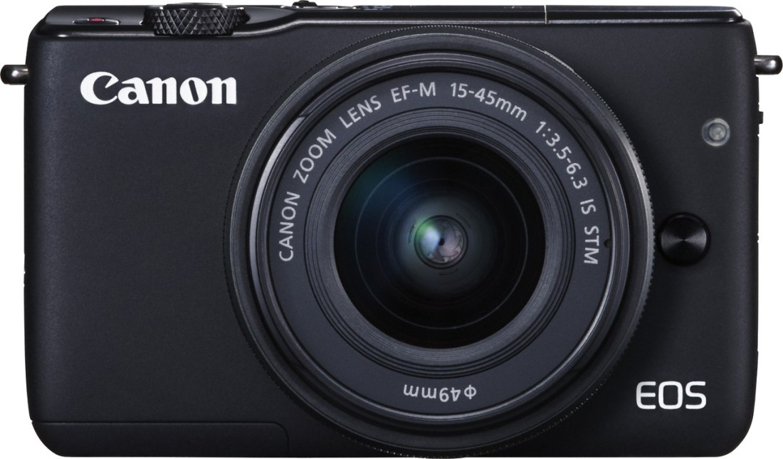 Canon EOS M10 (with EF-M15-45 mm f/3.5 - 6.3 IS STM) Mirrorless Camera