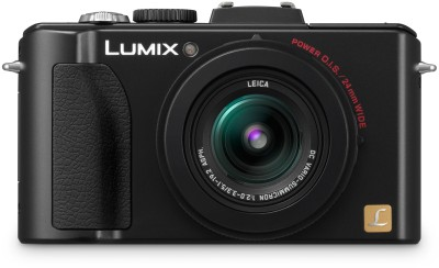 Panasonic Lumix DMC LX5 Point & Shoot Camera Black available at Flipkart for Rs.16990