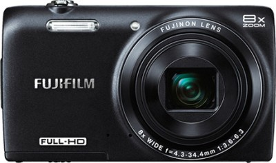 Fujifilm FinePix JZ700 Point & Shoot Camera Black available at Flipkart for Rs.8739