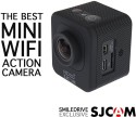 Sjcam M10 Wifi Mini Cube Cam-1.5 Inch Ultra HD Display Waterproof 12MP 1080p Camcorder-Car Dash 170 Degree HD Wide-angle Lens Sports & Action Camera (Black)