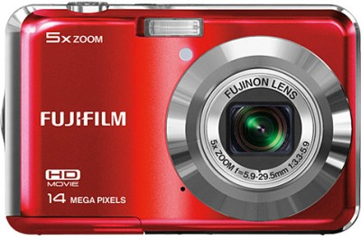 Fujifilm FinePix AX500 Point & Shoot Camera Red available at Flipkart for Rs.14450