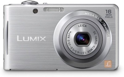 Panasonic Digital DMC-F5 Point & Shoot Camera Silver