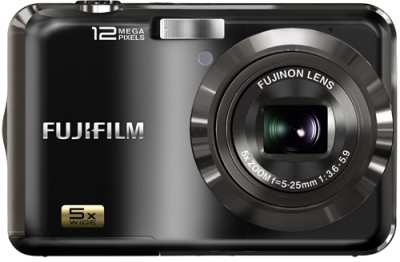 Fujifilm FinePix AX200 Point & Shoot Camera Black available at Flipkart for Rs.7999