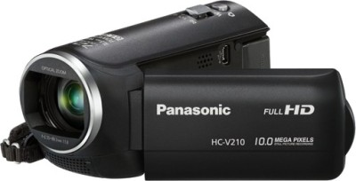 Panasonic HC V210 Camcorder Camera available at Flipkart for Rs.20990