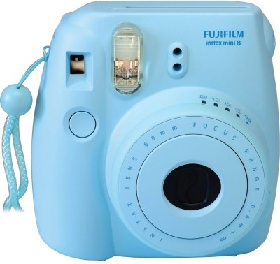 Fujifilm Instax Instax Mini 8 Instant Camera Blue available at Flipkart for Rs.5145