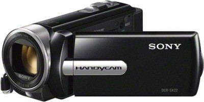 Sony DCR-SX22E Camcorder Camera Black
