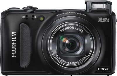 Fujifilm F660EXR Point & Shoot Camera Black available at Flipkart for Rs.13999
