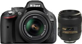 Nikon D5200 (with AF-S 18-55mm + AF-S 50mm f/1.8G Nikkor Lens Kit)