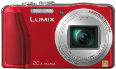 Panasonic Lumix DMC TZ30 Point & Shoot Camera Red available at Flipkart for Rs.18990