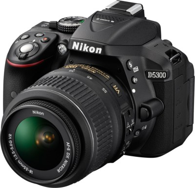 Flipkart: Nikon D5300 Digital SLR Camera With 18-55 Kit lens @ Rs 48373