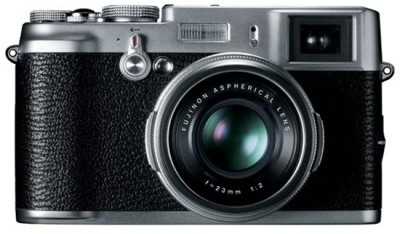 Fujifilm FinePix X100 Mirrorless Camera Black available at Flipkart for Rs.55999