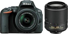 Nikon D5500 (with AF-S 18-55 VRII + 55-200 VR Kit Lens) DSLR