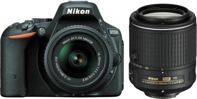 Nikon-D5500-(with-AF-S-18-55-VRII-+-55-200-VR-Kit-Lens)-DSLR