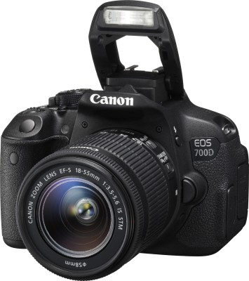 Canon EOS 700D DSLR Camera (With 18-55mm and 55-250mm IS II Lens)